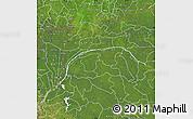 Satellite Map of Equateur