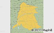 Savanna Style Map of Equateur