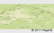 Physical Panoramic Map of Bosobolo