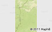 Physical 3D Map of Libenge/Zongo