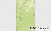 Physical Map of Libenge/Zongo