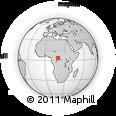 Outline Map of Libenge/Zongo
