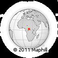 Outline Map of Sud-Ubangi