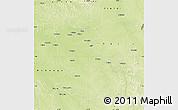 Physical Map of Ikela
