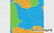 Political Map of Ikela