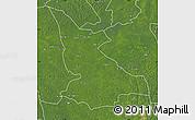 Satellite Map of Ikela