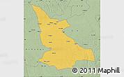 Savanna Style Map of Ikela