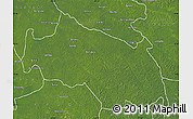 Satellite Map of Monkoto
