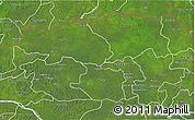 Satellite 3D Map of Bas-Uele