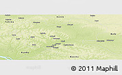 Physical Panoramic Map of Aketi