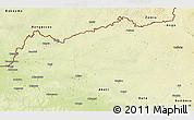 Physical 3D Map of Bondo