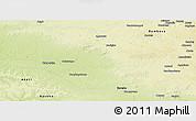 Physical Panoramic Map of Buta
