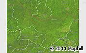 Satellite 3D Map of Dungu
