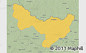 Savanna Style 3D Map of Dungu