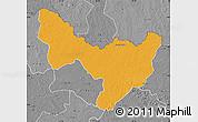Political Map of Dungu, desaturated