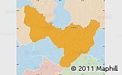 Political Map of Dungu, lighten