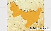 Political Map of Dungu, physical outside