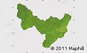 Satellite Map of Dungu, cropped outside