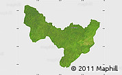 Satellite Map of Dungu, single color outside
