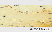 Physical Panoramic Map of Dungu