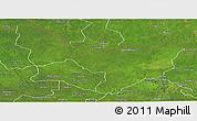 Satellite Panoramic Map of Dungu