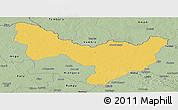 Savanna Style Panoramic Map of Dungu