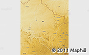 Physical 3D Map of Faradje