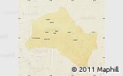 Physical Map of Niangara, lighten