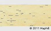 Physical Panoramic Map of Niangara
