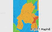 Political Map of Aru