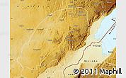 Physical Map of Irumu