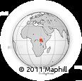 Outline Map of Irumu