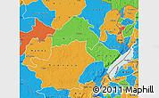 Political Map of Ituri