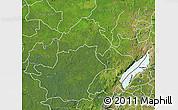Satellite Map of Ituri