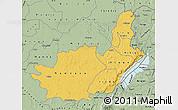 Savanna Style Map of Ituri