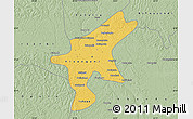 Savanna Style Map of Kisangani