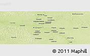 Physical Panoramic Map of Kisangani