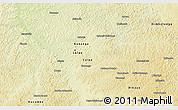 Physical 3D Map of Kananga