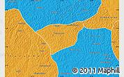 Political Map of Kananga