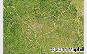 Satellite Map of Kananga