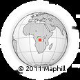 Outline Map of Kananga