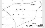 Blank Simple Map of Kananga