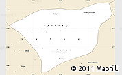 Classic Style Simple Map of Kananga