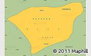 Savanna Style Simple Map of Kananga