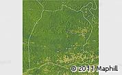 Satellite 3D Map of Dekese