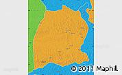 Political Map of Dekese