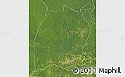 Satellite Map of Dekese