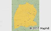 Savanna Style Map of Dekese