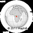 Outline Map of Dekese