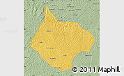 Savanna Style Map of Luebo